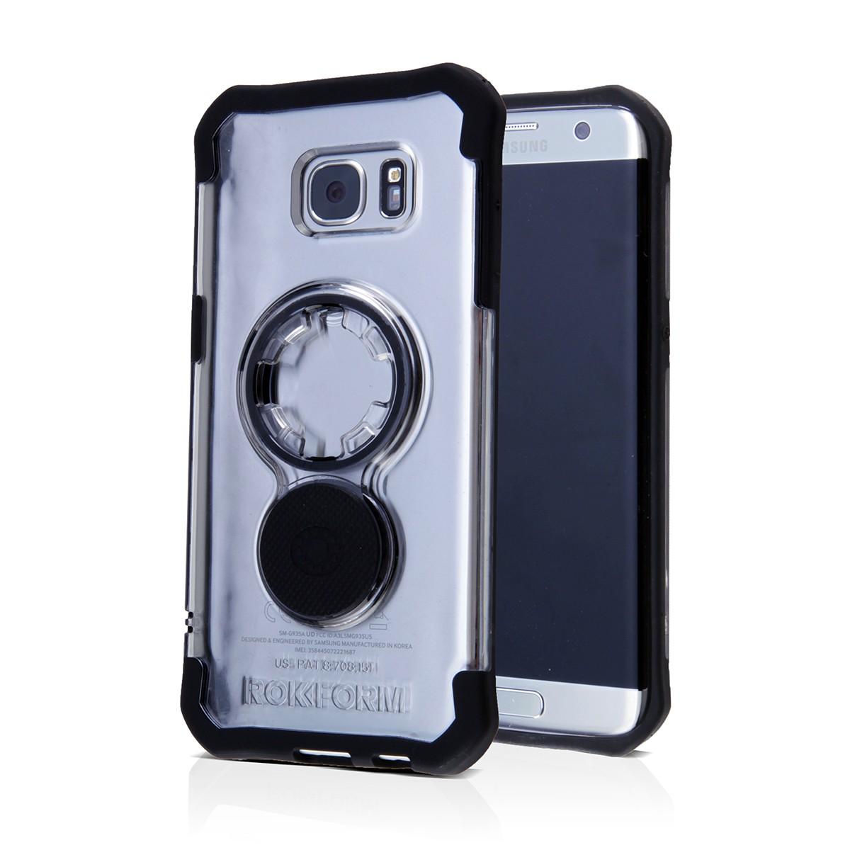 Rokform Θήκη Samsung Galaxy S7 Edge V3 Crystal Case με Μαγνητική Βάση Αυτοκινήτου - Crystal Clear (302820)