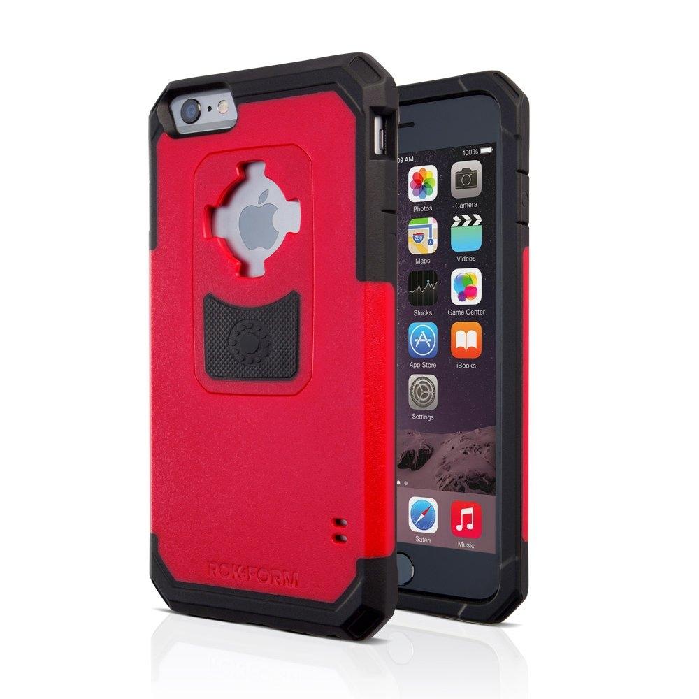 Rokform Rugged V3 Θήκη με Μαγνητική Βάση Αυτοκινήτου iPhone 6 / 6S - Red / Black (302256)