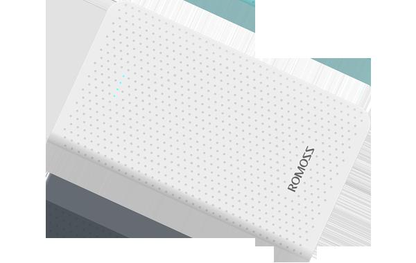 Romoss Sense Mini Φορητή Μπαταρία Φόρτισης (Powerbank) 5000mAh - White (PHP05-401-02)