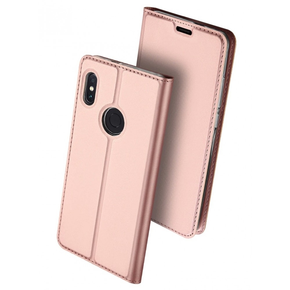 Duxducis Θήκη - Πορτοφόλι Xiaomi Redmi Note 7 - Rose Gold (47729)
