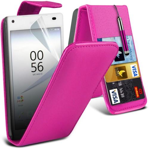 Flip Θήκη Sony Xperia Z5 Compact (001-005-501) - OEM