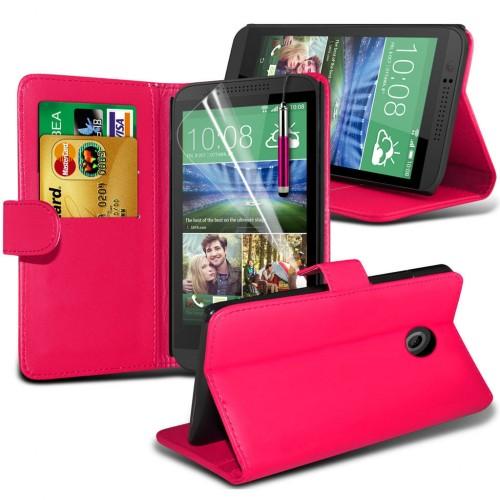 Θήκη HTC Desire 820 - Πορτοφόλι (001-028-827) - OEM θήκες κινητών