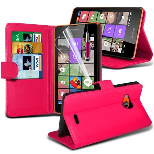 Θήκη Microsoft Lumia 540 - Πορτοφόλι (001-001-541) - OEM