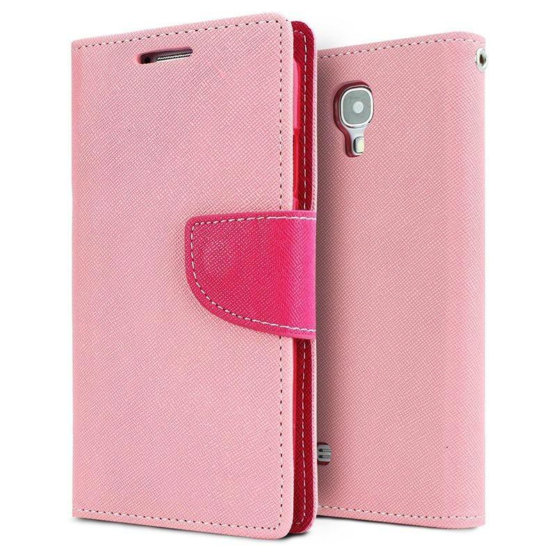 Θήκη Πορτοφόλι Sony Xperia E5 - Pink/Rose - OEM  (10925)