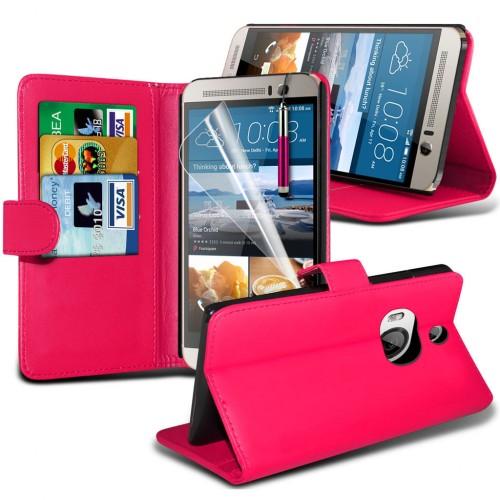 Θήκη HTC One M9 Plus - Πορτοφόλι (001-028-010) - OEM