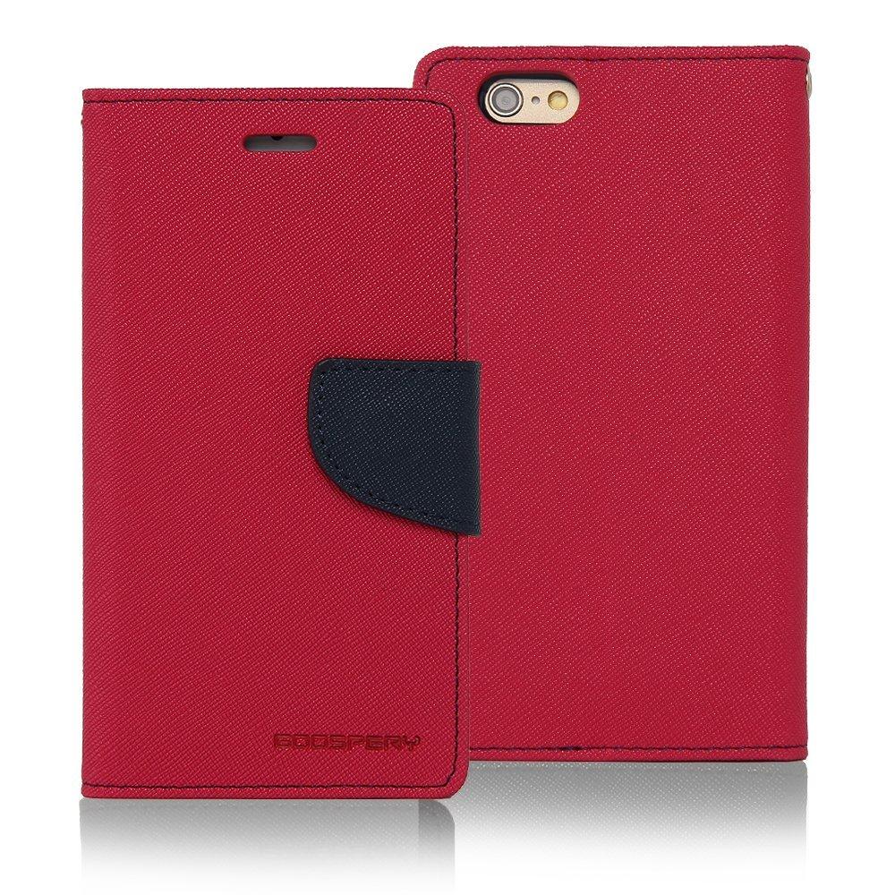 Mercury Fancy Diary Θήκη Samsung Galaxy J7 (2016) - Πορτοφόλι (9071) - Φούξια