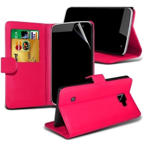 Θήκη LG K8 - Πορτοφόλι (8711) Ροζ - OEM