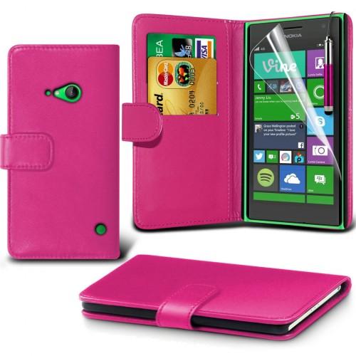 Θήκη Nokia Lumia 730/735 - Πορτοφόλι (001-001-736) - OEM