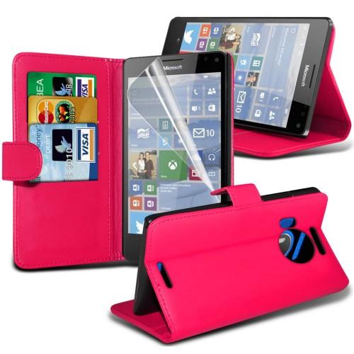 Θήκη Microsoft Lumia 950 - Πορτοφόλι (001-116-954) - OEM