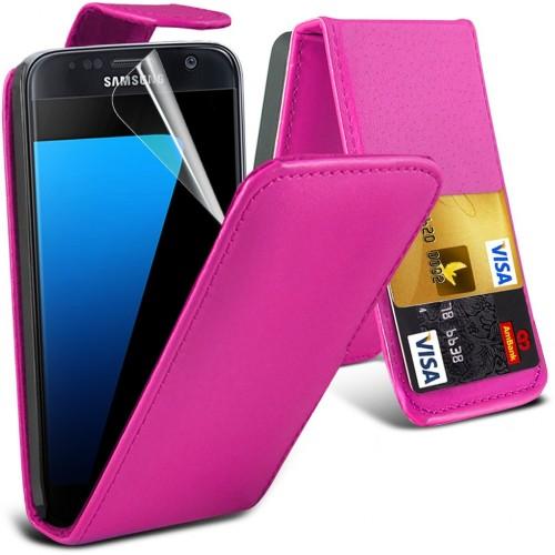 Flip Θήκη Samsung Galaxy S7 (001-002-073) - OEM