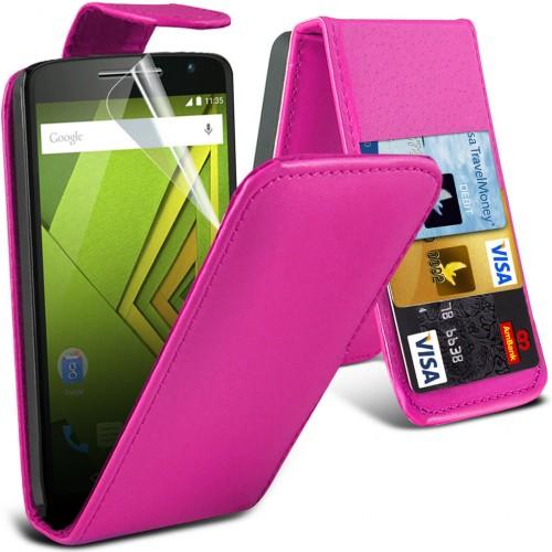 Flip Θήκη Motorola Moto X Play (001-003-102) - OEM