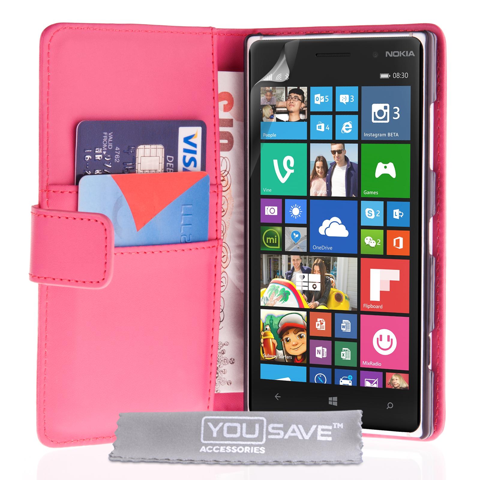 Θήκη Nokia Lumia 830 - Πορτοφόλι by YouSave (Z822)