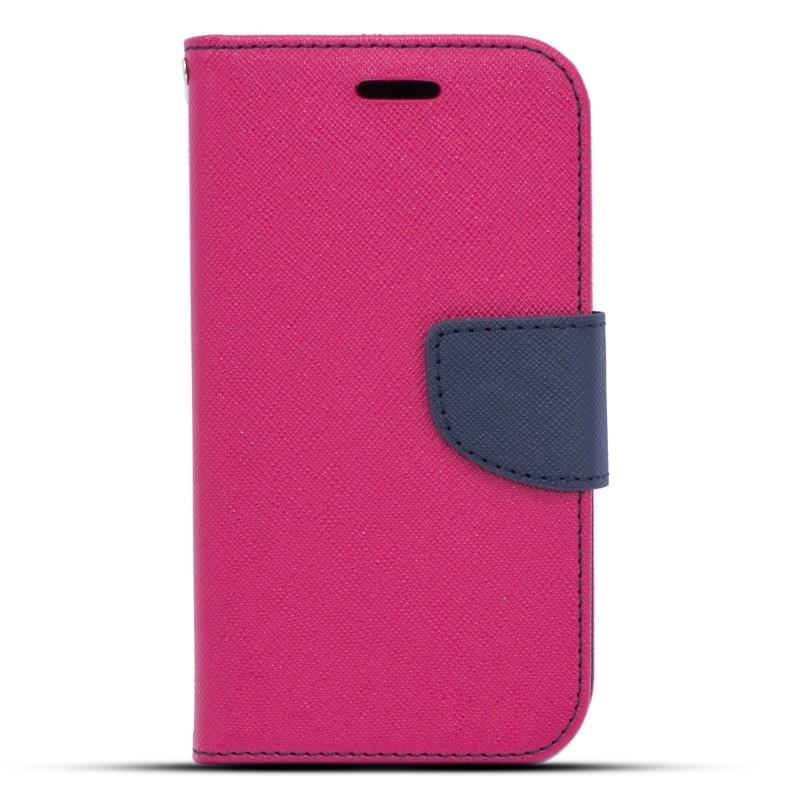 Θήκη LG K4 - Πορτοφόλι (001-014-114) Ροζ - OEM