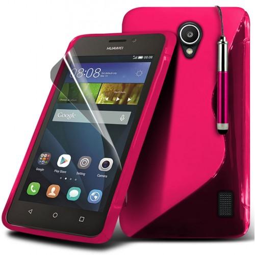 Θήκη Huawei Ascend Y635 (018-083-636) Ροζ - OEM