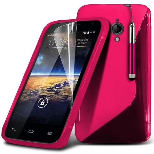 Ημιδιάφανη Θήκη Vodafone Smart 4 Turbo (018-004-401) - OEM