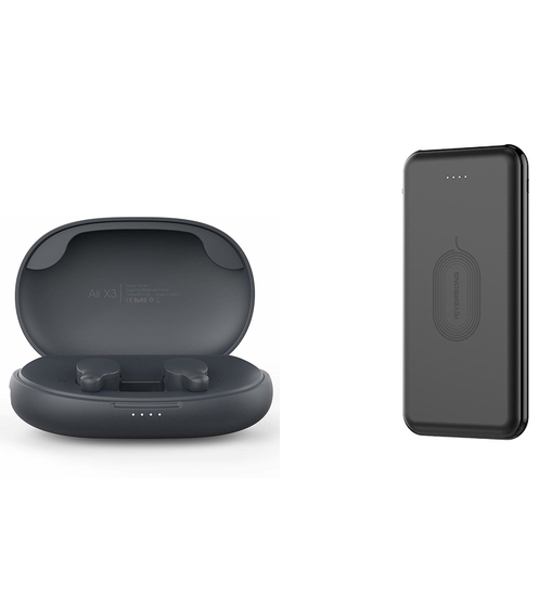 Riversong Ασύρματα Ακουστικά Bluetooth Air X3 & Wireless Powerbank 8000mAh (58872)