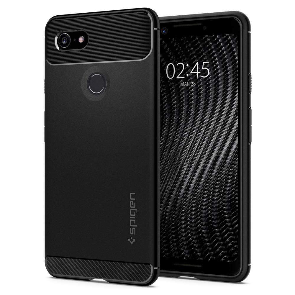 Spigen Θήκη Rugged Armor Google Pixel 3 - Black (F19CS25031)