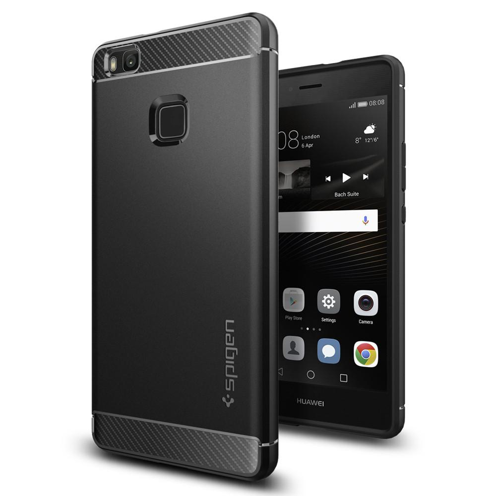Spigen Θήκη Rugged Armor Huawei P9 Lite - Black (L05CS20299)