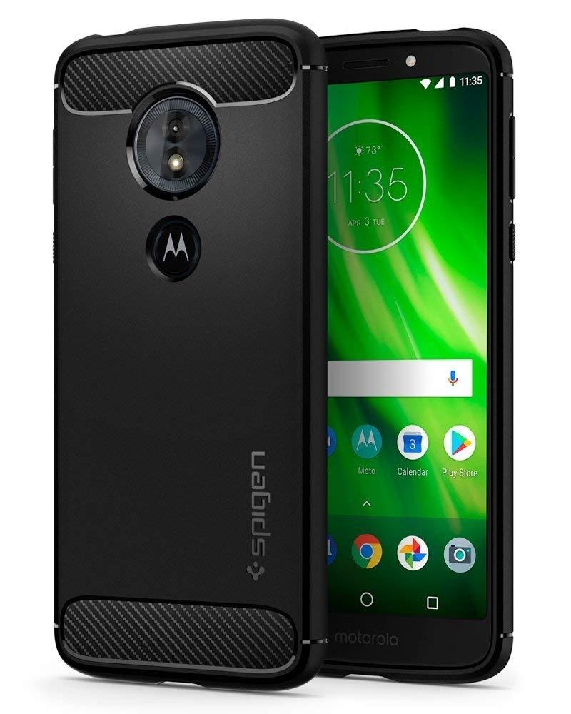 Spigen Θήκη Rugged Armor Motorola Moto G6 Play / Moto E5 - Black (M19CS24391)