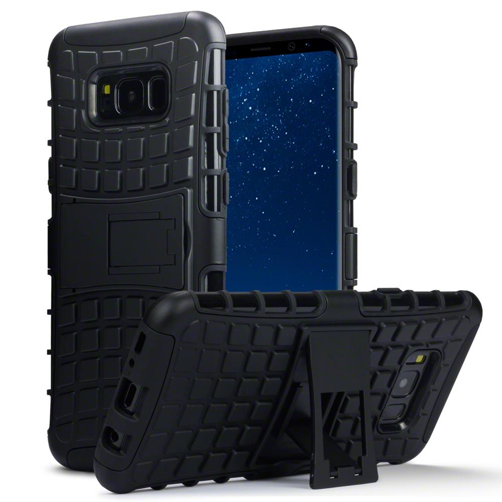 Terrapin Ανθεκτική Θήκη Samsung Galaxy S8 Plus - Black (131-002-049)