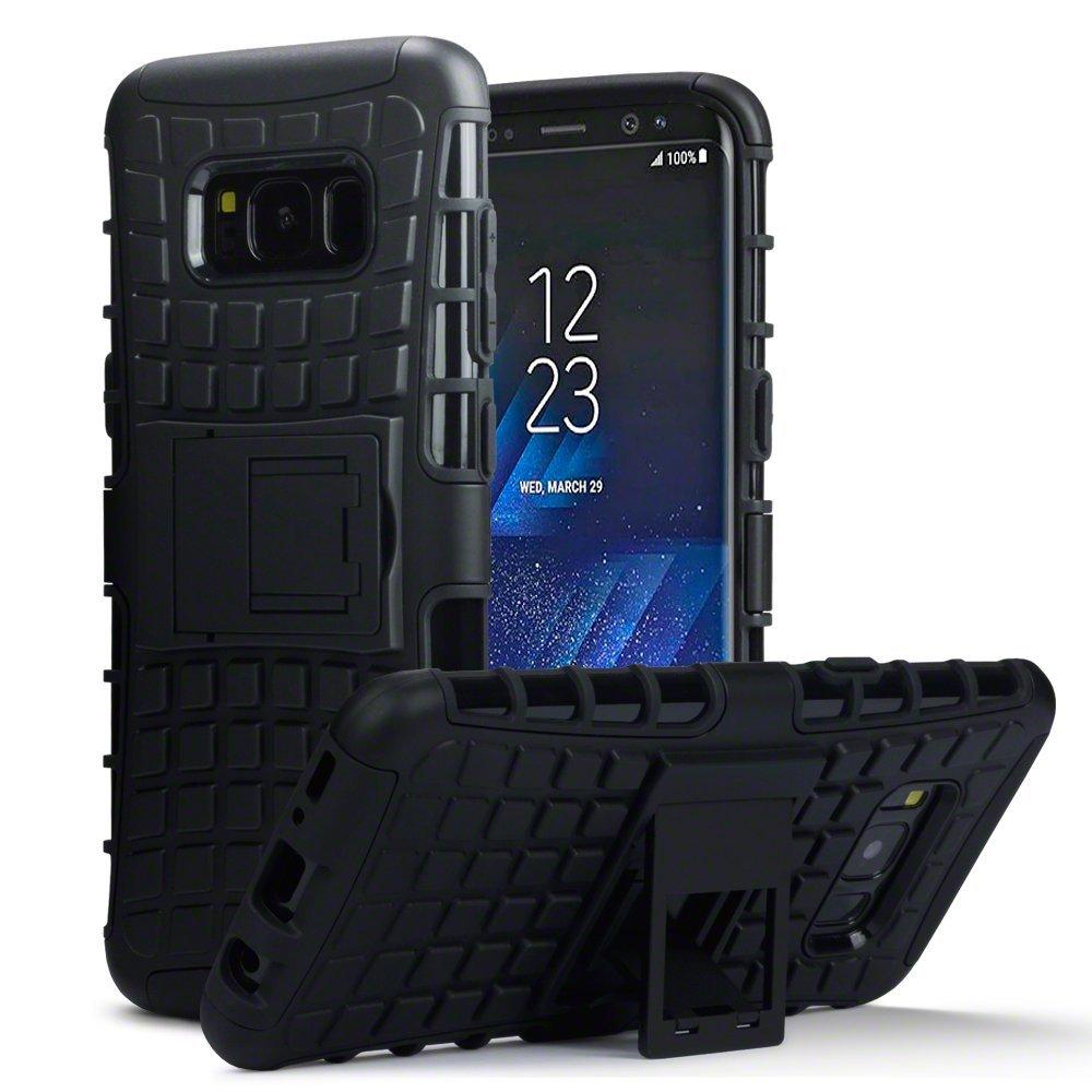 Terrapin Ανθεκτική Θήκη Samsung Galaxy S8 - Black (131-002-046)