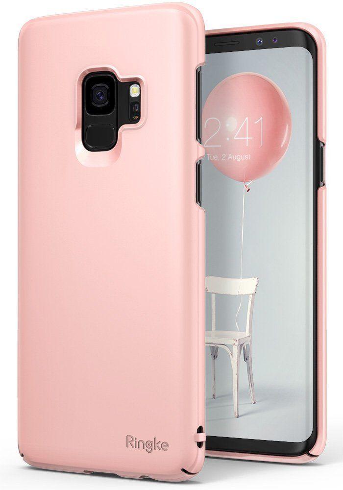 Ringke Slim Θήκη Samsung Galaxy S9- Peach Pink (RGK652PNK)