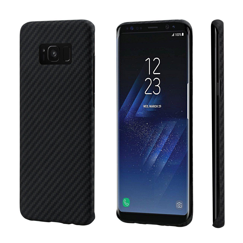 Pitaka MagCase - Θήκη Kevlar Body Samsung Galaxy S8 Plus - 0.65mm - Black (KS8001S)