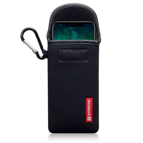 Shocksock Θήκη - Πουγκί iPhone X / XS -  Black (121-125-001)