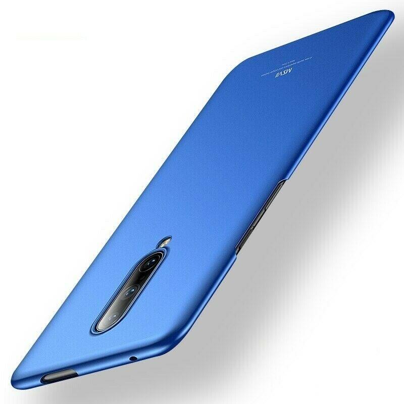 MSVII Super Slim Σκληρή Θήκη PC OnePlus 7 Pro - Blue (AB4-05)