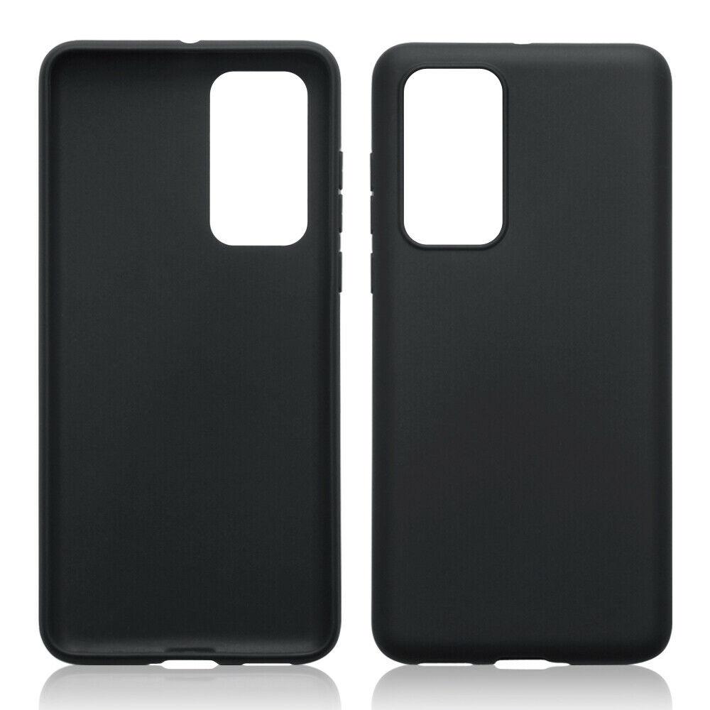 Terrapin Θήκη Σιλικόνης Huawei P40 - Black Matte (118-083-216)