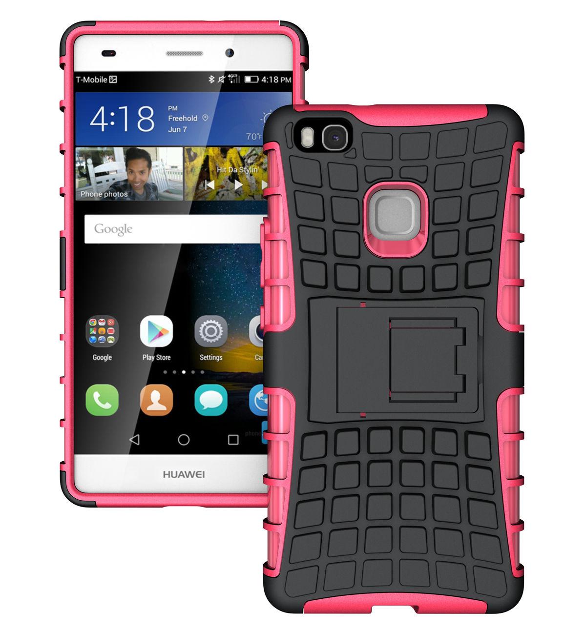Ανθεκτική Θήκη Huawei P8 / P9 Lite 2017 - Pink (11315) - OEM