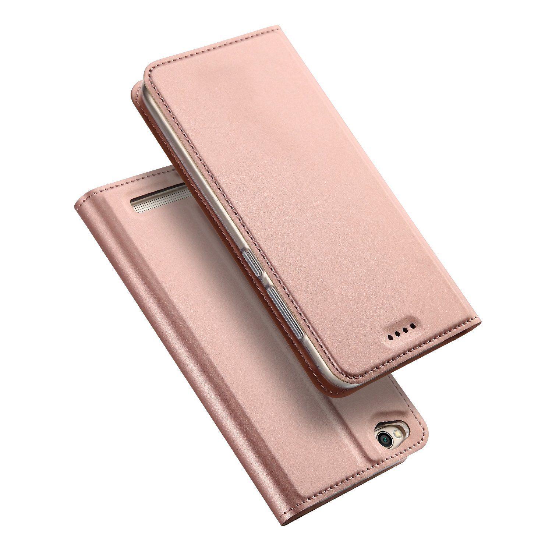 Duxducis SkinPro Flip Θήκη Xiaomi Redmi 5A - Rose Gold (12723)