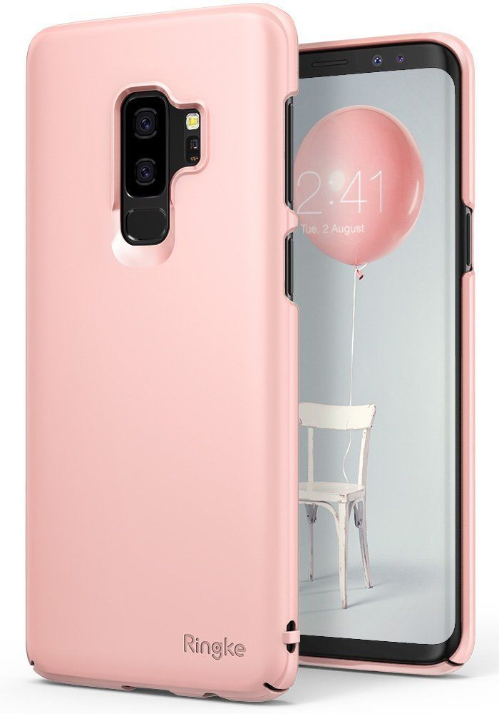 Ringke Slim Θήκη Samsung Galaxy S9 Plus - Peach Pink (RGK659PNK)