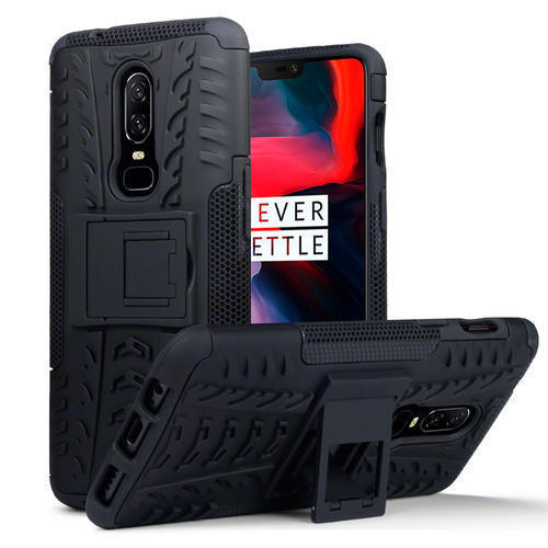 Terrapin Ανθεκτική Θήκη με Stand OnePlus 6 - Black (131-119-001)