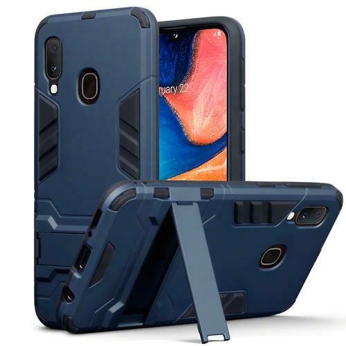 Terrapin Ανθεκτική Dual Layer Θήκη Samsung Galaxy A20e - Dark Blue (131-002-183)