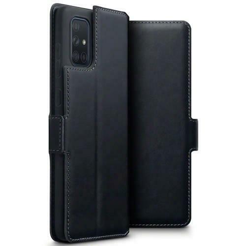 Terrapin Low Profile Δερμάτινη Θήκη - Πορτοφόλι Samsung Galaxy A71 - Black (117-002a-212)