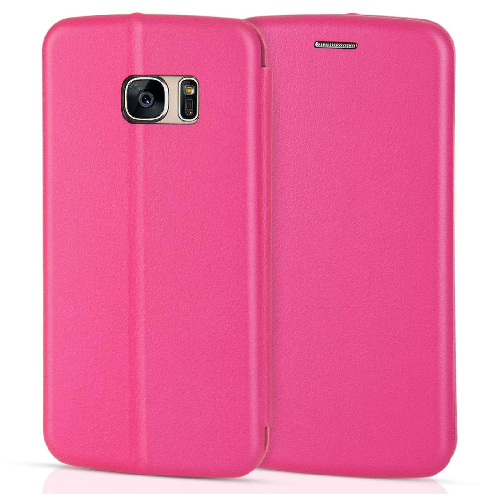 Caseflex Θήκη - Πορτοφόλι Samsung Galaxy S7 - Pink (SA-EA06-Z533)