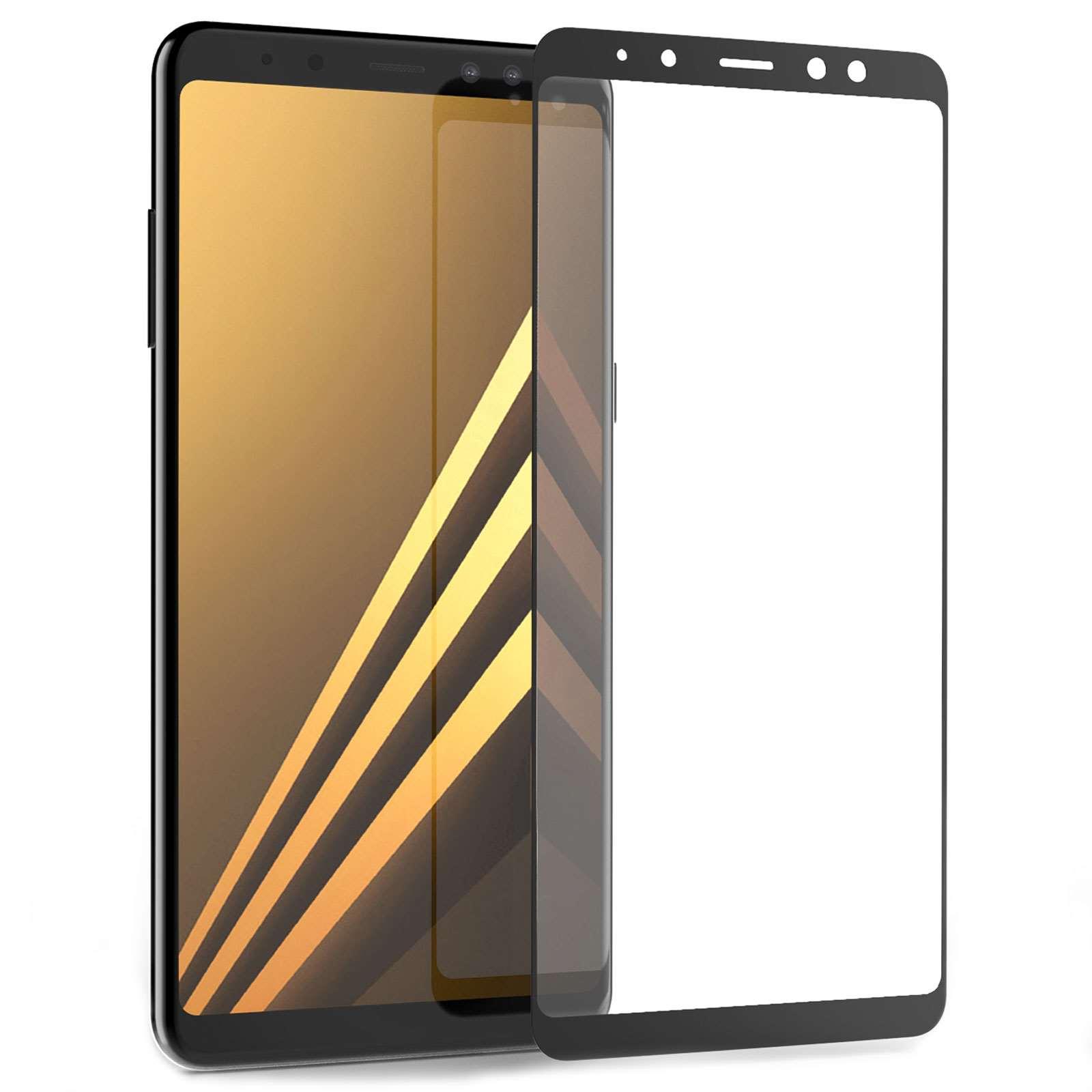Caseflex Tempered Glass - Αντιχαρακτικό with Black Edge Γυαλί Οθόνης Samsung Galaxy A8 Plus 2018 (SA-EA10-Z322)