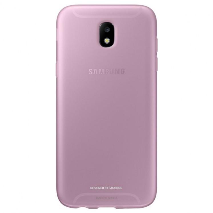 Samsung Official Jelly Cover - Ημιδιαφανή Θήκη Σιλικόνης Samsung Galaxy J5 2017 - Pink (EF-AJ530TPEGWW)