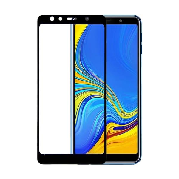 RedShield Full Face Tempered Glass - Αντιχαρακτικό Γυάλινο Screen Protector Samsung Galaxy A7 2018 (RSHITEMP62BK)