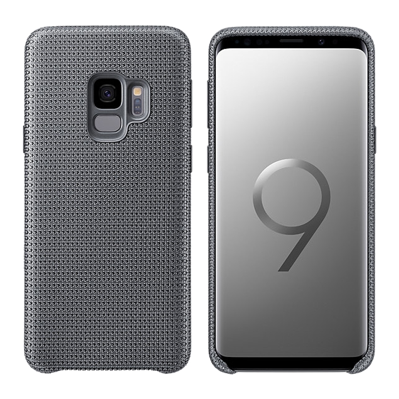 Samsung Official Hyperknit Cover - Sporty and Light - Σκληρή Θήκη Galaxy S9 - Gray (EF-GG960FJEGWW)