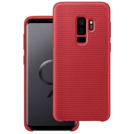 Samsung Official Hyperknit Cover - Sporty and Light - Σκληρή Θήκη Galaxy S9 Plus - Red (EF-GG965FREGWW)