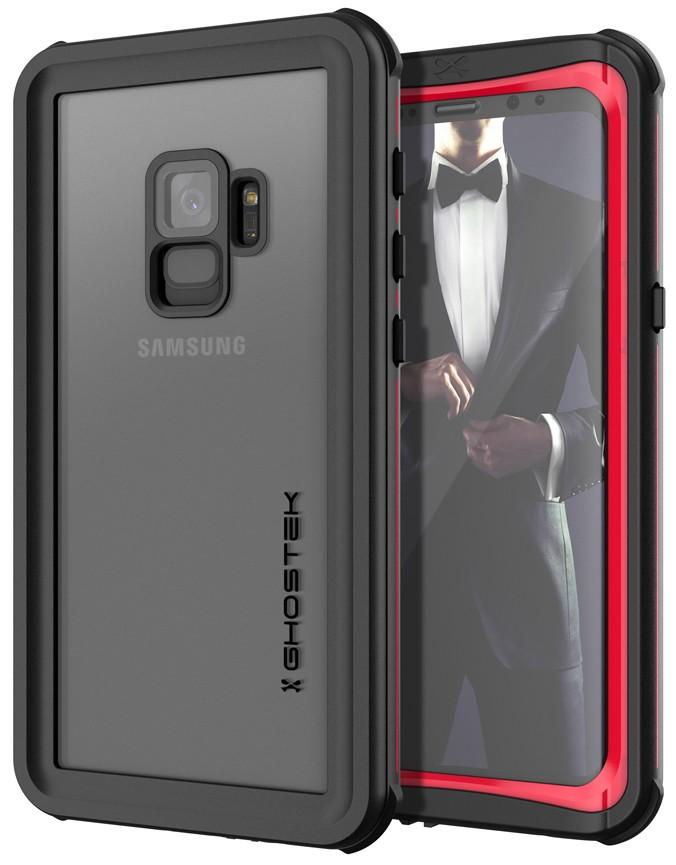 Ghostek Nautical 2 Αδιάβροχη θήκη Samsung Galaxy S9 - Red (CA-GHOCAS956-00)
