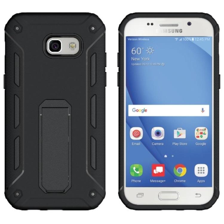 SHTL Θήκη με Stand Samsung Galaxy A3 2017 - Black (141289)