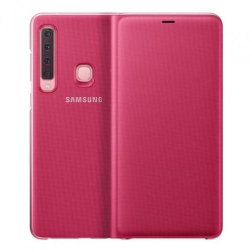 Official Flip Wallet - Θήκη Samsung Galaxy A9 2018 - Pink (EF-WA920PPEGWW)