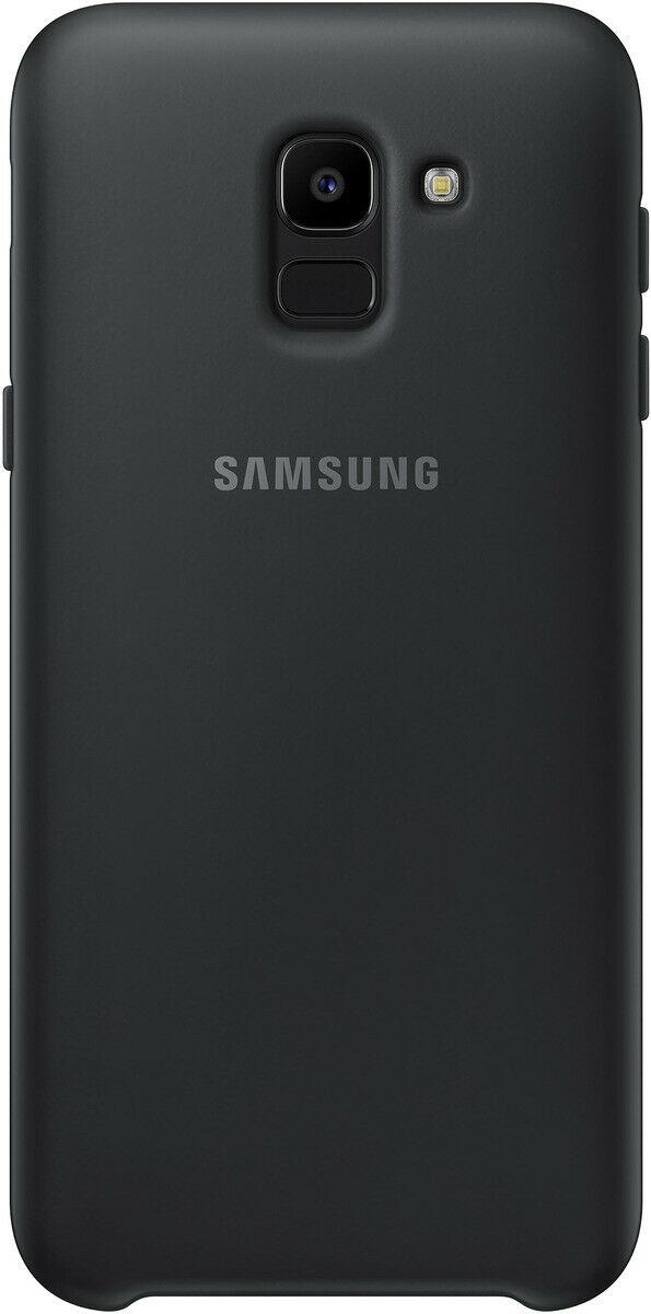 Samsung Official Dual Layer Cover Samsung Galaxy J6 2018 - Black (EF-PJ600CBEGWW)