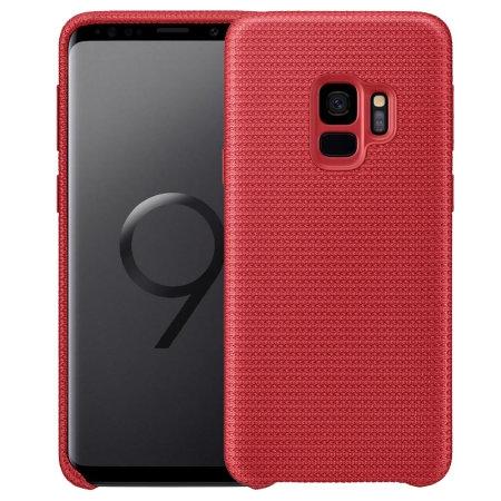 Samsung Official Hyperknit Cover - Sporty and Light - Σκληρή Θήκη Galaxy S9 - Red (EF-GG960FREGWW)