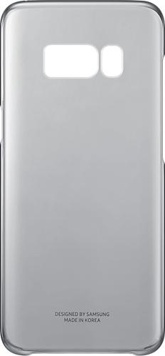 Samsung Official Ημιδιάφανη Σκληρή Θήκη Clear Cover Galaxy S8 - Black (EF-QG950CBEGWW)