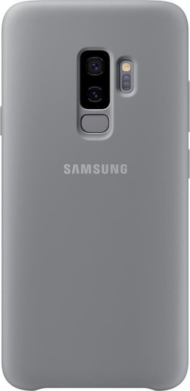 Samsung Official Silicon Cover - Silky and Soft-Touch Finish - Θήκη Σιλικόνης Samsung Galaxy S9 Plus - Grey (EF-PG965)