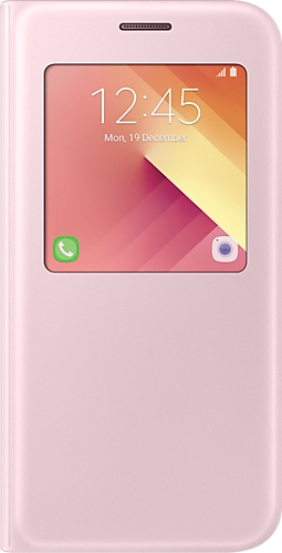Official S-View Standing Cover Θήκη Samsung Galaxy A5 2017 - Pink (EF-CA520PPEGWW)